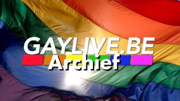 Homoseksuele bokser vecht titelkamp in regenboogkleuren