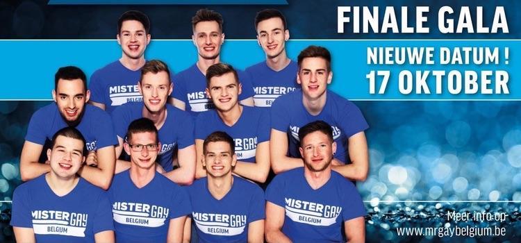 Finale Mister Gay Belgium opnieuw uitgesteld