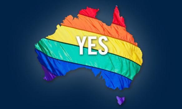 Homohuwelijk in Australië goedgekeurd