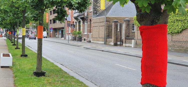 IDAHOT: Hasselt heeft een Regenboogboulevard