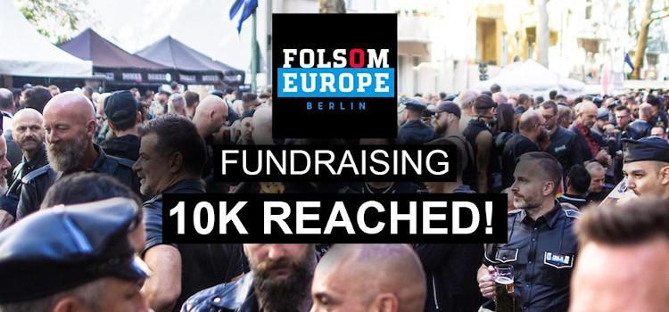 Meer dan 10.000 euro opgehaald via crowdfunding voor Folsom Europe Berlijn