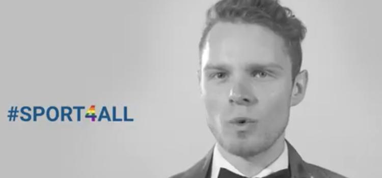 Mister Gay Belgium lanceert #SPORT4ALL campagne