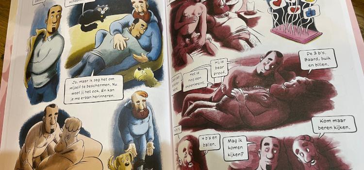 Salto en Ubba: Beren spelen dankzij geslaagde crowdfunding hoofdrol in  nieuwe graphic novel