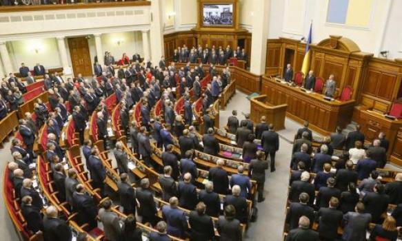 Parlementsvoorzitter voorspelt dat er nooit een homo-huwelijk zal komen in Oekraïne