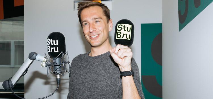 Sam De Bruyn keert even terug naar Studio Brussel
