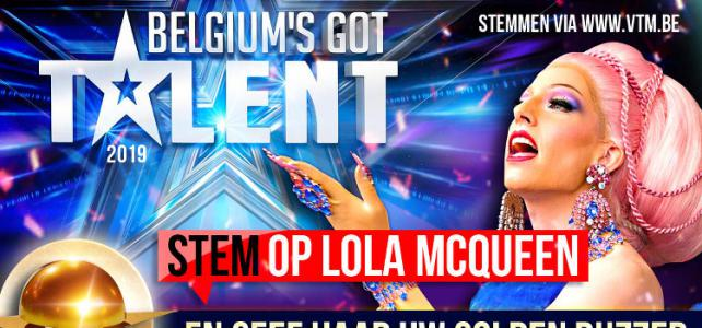 Dragqueen Lola McQueen in Belgium Got Talent
