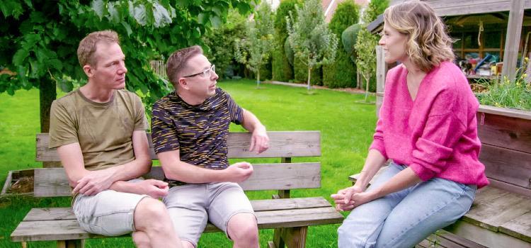 Dina Tersago  gaat op zoek naar wensouders voor bewust co-ouderschap