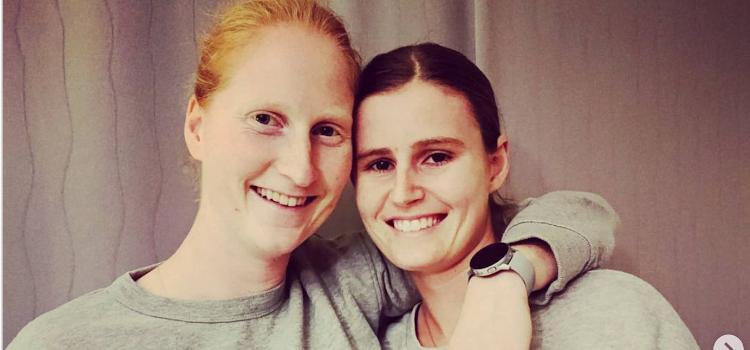 Vlaams tenniskoppel Greet Minnen en Alison Van Uytva...