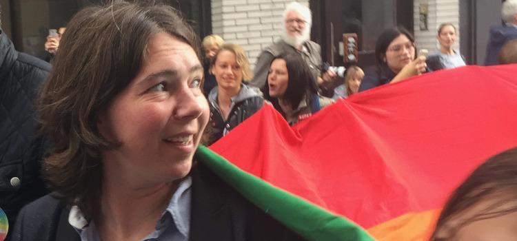 Marcia Poelman niet langer co-voorzitter Roze Huis Antwerpen