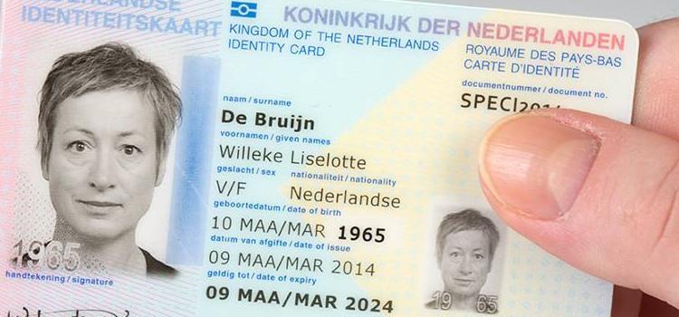 Nederland schrap M/V van identiteitskaart