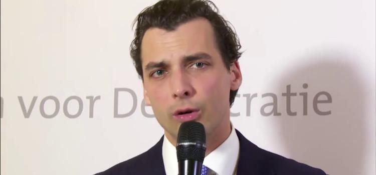 """Nederlandse politicus Thierry Baudet: """"Aids bestaat niet voor blanke hetero's"""