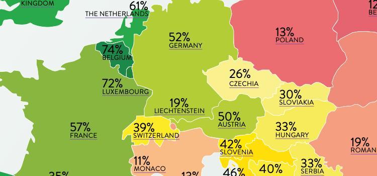 Malta bovenaan in de Rainbow European Index, Belgie opnieuw tweede