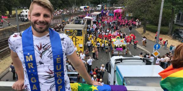 Nieuwe Mister Gay Europe wordt in Newcastle verkozen