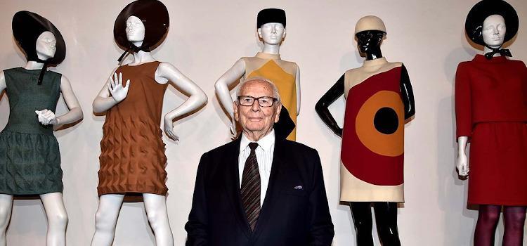 Modeontwerper Pierre Cardin (°1922-2020)