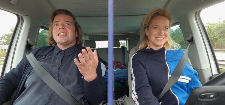 Cath Luyten maakt roadtrip met Benny Claessens van 700 kilometer