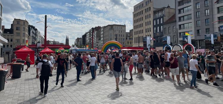 Vijftienduizend bezoekers op Antwerp Pride 2021