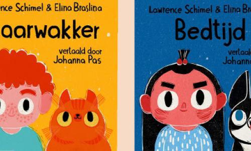 Uitgeverij Kartonnen Dozen komt met kartonboekjes met twee mama's en papa's