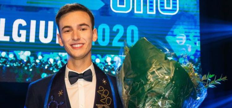 Joren is de nieuwe Mister Gay Belgium
