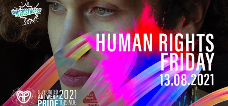 Ook dit jaar Human Rights Friday op Antwerp Pride