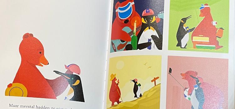 Een zee van liefde: Een pinguin en een beer leren je...