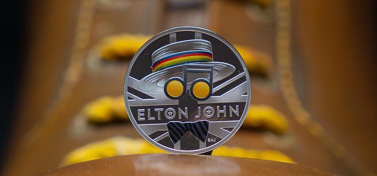 Elton John krijgt eigen herdenkingsmunt
