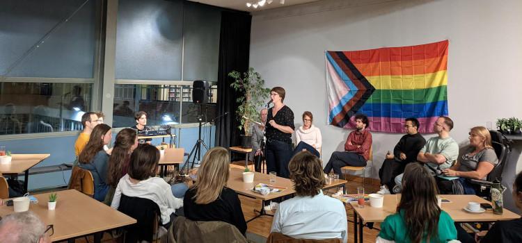 Grote opkomst voor start van Queer Leuven