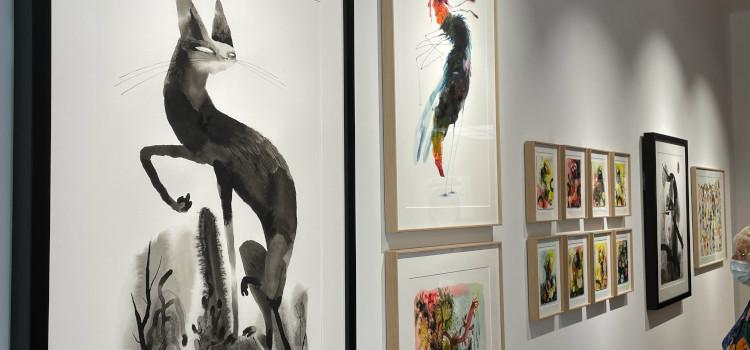 Nieuwe gallerij opent met aangrijpende expo van Boekenpauw-winnaar Sebastiaan Van Doninck