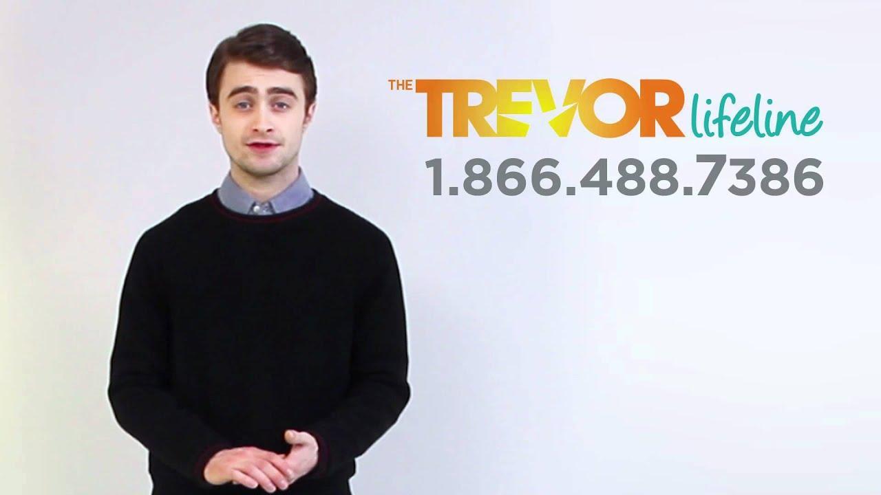 Daniel Radcliffe neemt reclamefilmpje op voor hulplijn voor holebi-jongeren